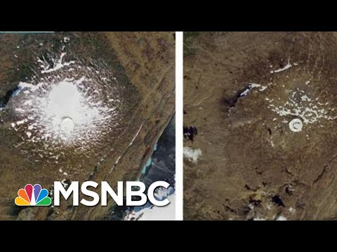 Iceland Mourns Loss Of Glacier Destroyed By Climate Change | Rachel Maddow | MSNBC