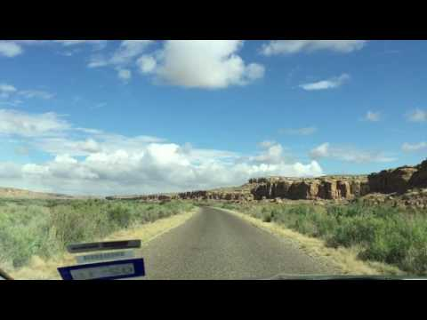 Driving in Chaco Culture National Historical Park