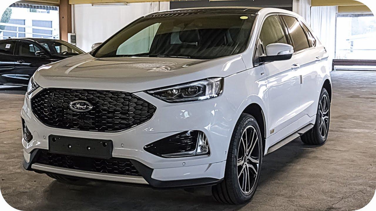 2019 new ford edge st line exterior interior 2 0 bi turbo youtube. Black Bedroom Furniture Sets. Home Design Ideas