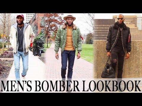ALPHA INDUSTRIES: MEN'S BOMBER LOOKBOOK | MEN'S STYLE