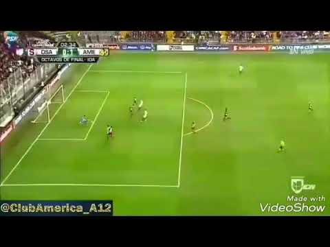 Doblete de Cecilio Domínguez - Deportivo Saprissa 1 Club América 5