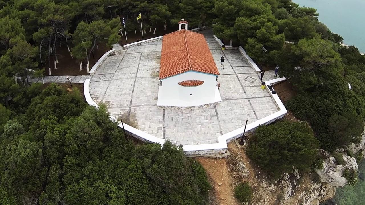 Αγια Μαρινα Καλαμου Αττικης -Drone aerial view of Ag Marina - YouTube
