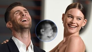 Adam Levine and Behati Prinsloo Share First Photo of Adorable Baby Girl