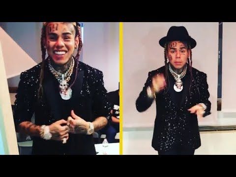 6IX9INE Gives Up His $5 Dollar Shirts For Expensive Suit!