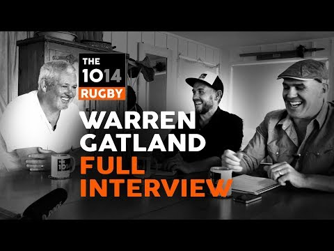 Warren Gatland | FULL Interview | The 1014 Rugby