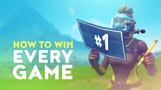 HOW TO WIN EVERY GAME - EDUCATIONAL COMMENTARY! (Fortnite Battle Royale)