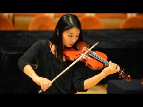 Lena Yokoyama Violin test Davide Sora 2015 Triennale