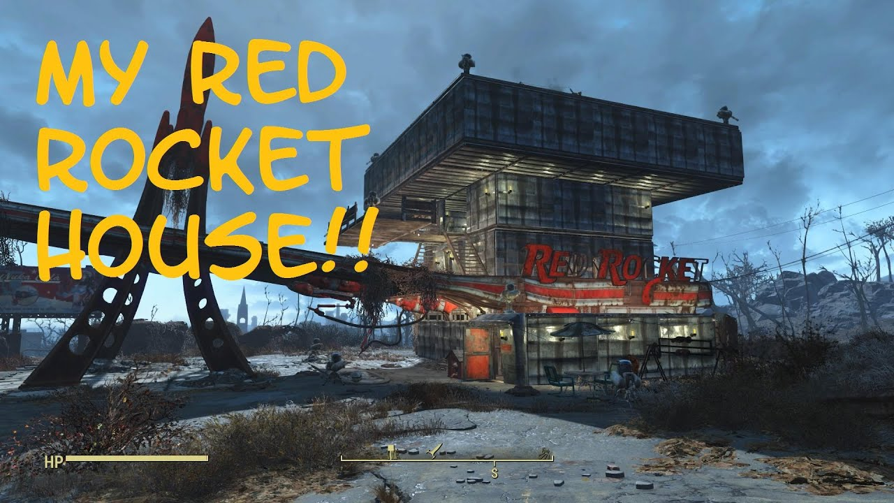 My red rocket house fallout 4 youtube for Best house designs fallout 4