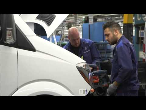Mercedes-benz Sprinter Production- Part 3