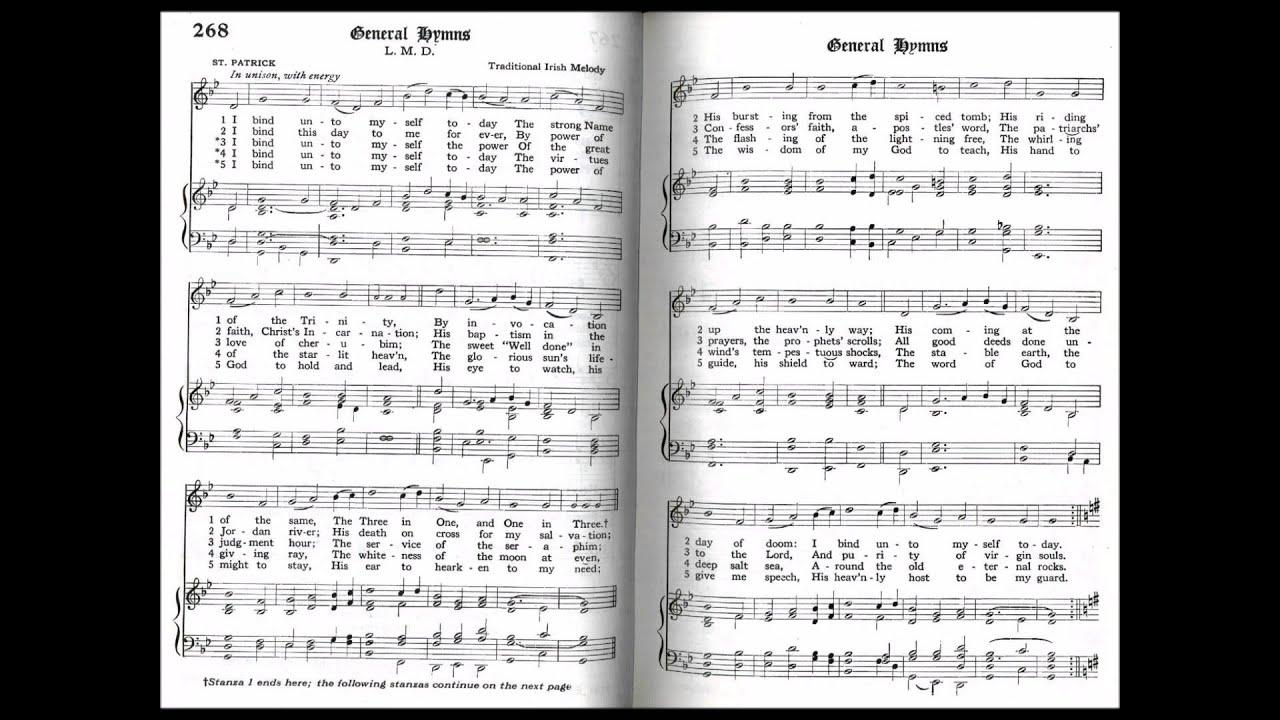 I Bind Unto Myself Today (St Patrick's Breastplate) - YouTube