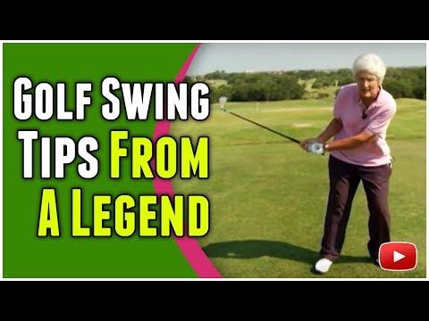 Golf Swing Tips from LPGA Golfing Legend Kathy Whitworth