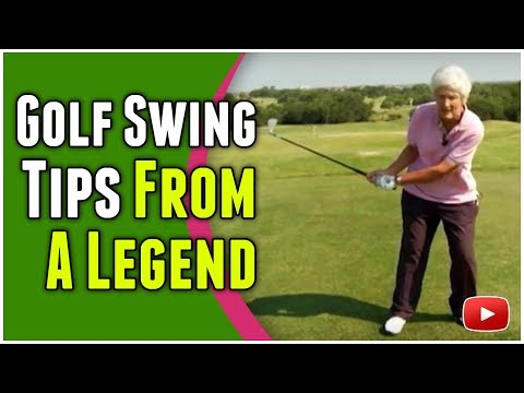Golf Swing Tips from LPGA Golfing Legend Kathy Whitworth