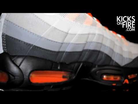 Nike Air Max 95 White / Team Orange