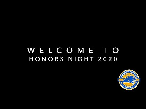 Birch Run High School Honors Night 2020