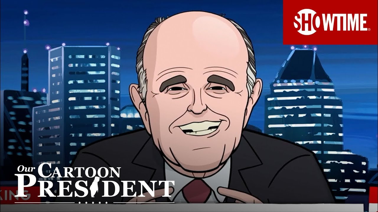 Cartoon Giuliani Flawlessly Defends Trump Tower Moscow Ep 1 Clip Our Cartoon President Youtube