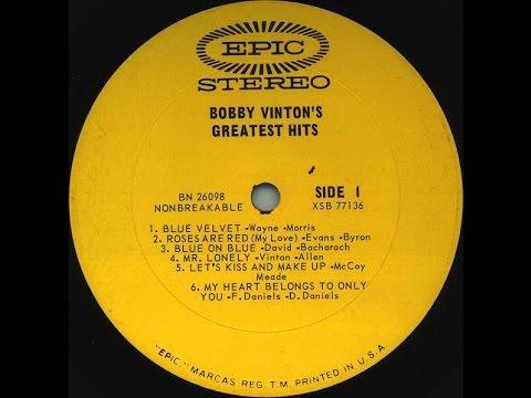 """Bobby Vinton - """"Blue Velvet"""" - Stereo LP - 1964 - HQ"""