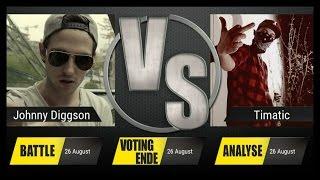 JBB 2015 [4tel-Finale 2/4] - Johnny Diggson vs. Timatic [ANALYSE]