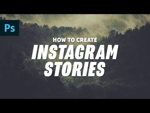 How To Make Creative Instagram Stories | Photoshop Tutorial