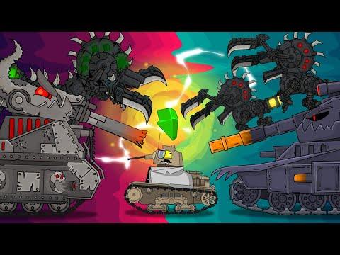ВСЕ СЕРИИ : Безумный ученый в мире Левиафана и Морока + Бонусная концовка - Мультики про танки