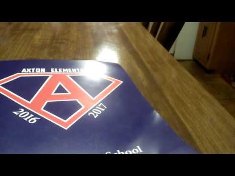 My yearbook? axton elementary school