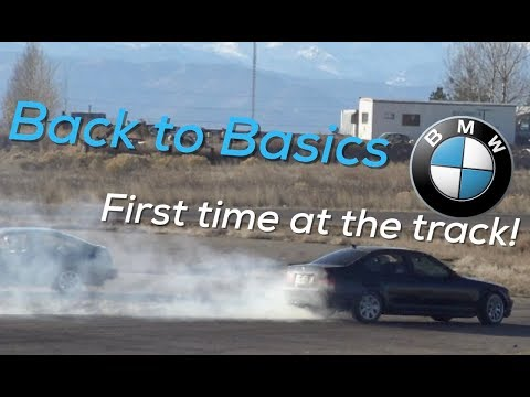 BUDGET BMW DRIFT CAR GOES TO THE TRACK!