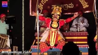 Yakshagana 2017 - Vidyadhara Jalavalli - Prasanna Shettigar - Nagara - Gadhayudda 5