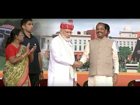 PM Modi inaugurates various development projects and schemes in Ranchi, Jharkhand