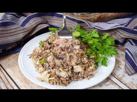 How To Make Chicken Wild Rice Casserole