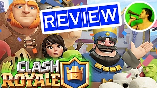 Clash Royale REVIEW @ NEW GENRE in online games