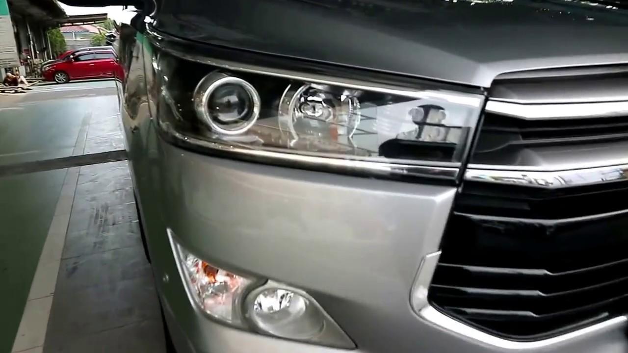 All New Kijang Innova Q Diesel Konsumsi Bbm Grand Avanza 2016 Toyota 2 4 2017 Youtube