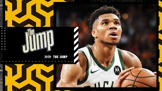 Grading Giannis Antetokoumpo's performance for the Bucks in Game 1 of the NBA Finals