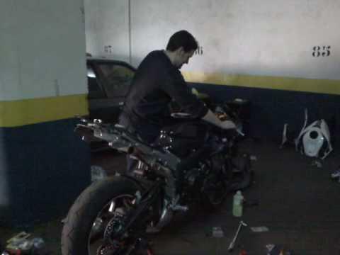 Reparación moto Daniello. Sub-chasis instalado. - YouTube