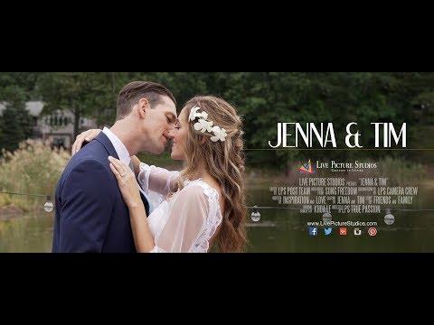 Jenna and Tim Wedding Highlight at Rock Island Lake Club in Sparta, NJ