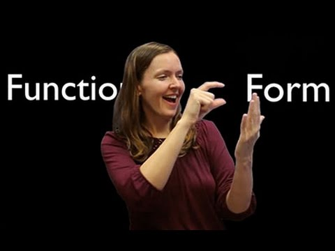 ASL in Academic Settings: Language Features