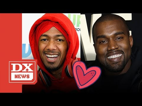 Kanye West And Nick Cannon Squash Beef Over Kim Kardashian Commentary