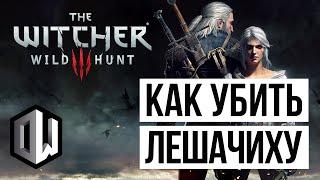 The Witcher 3: Wild Hunt • Как убить Лешачиху