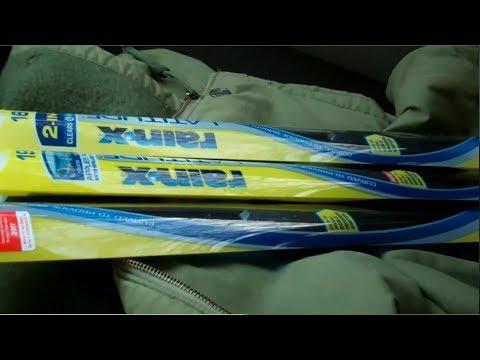 Replacing my old Wiper Blades w/ Rain-X Wiper Blades