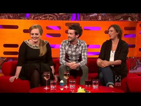 The Graham Norton Show  2011 S9x03 Jack Whitehall, Adele, Miranda Hart  Part 1