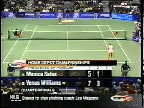Venus Williams vs. Monica Seles 2002 YEC