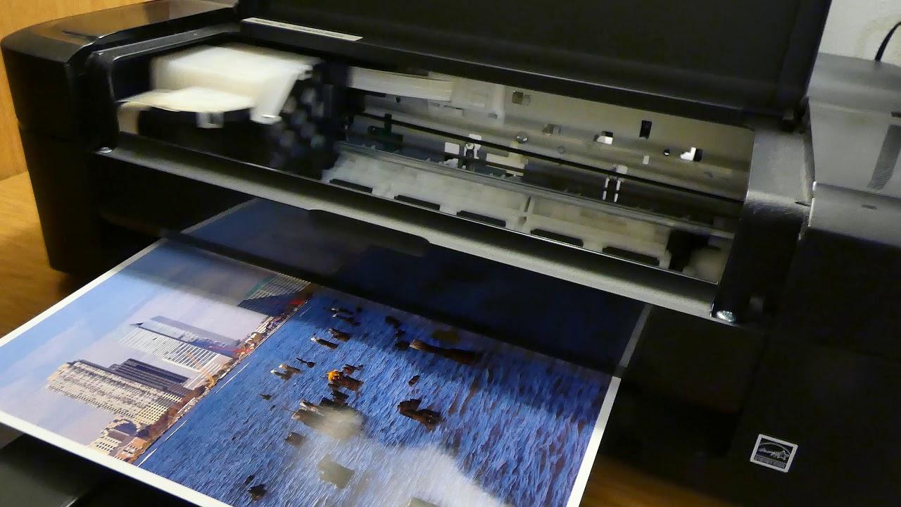Epson L310 Photo Print Test 4k Youtube Printer L 310