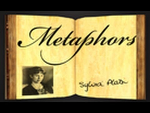 essay metaphors sylvia plath Metaphors by sylvia plath the poem 'metaphors' by sylvia plath deals with strong issues of pregnancy the poem was written when she was pregnant.