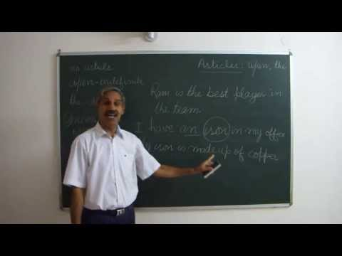 Learn English अंग्रेजी सीखें: Articles- A, An and The