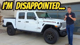 Here's Why I'm Getting Rid Of My Jeep Gladiator After 1 Year: Not Worth the Hype???