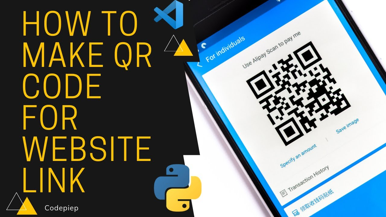 How to Make QR Code for Website Link in 2 Minutes [with Python Code]