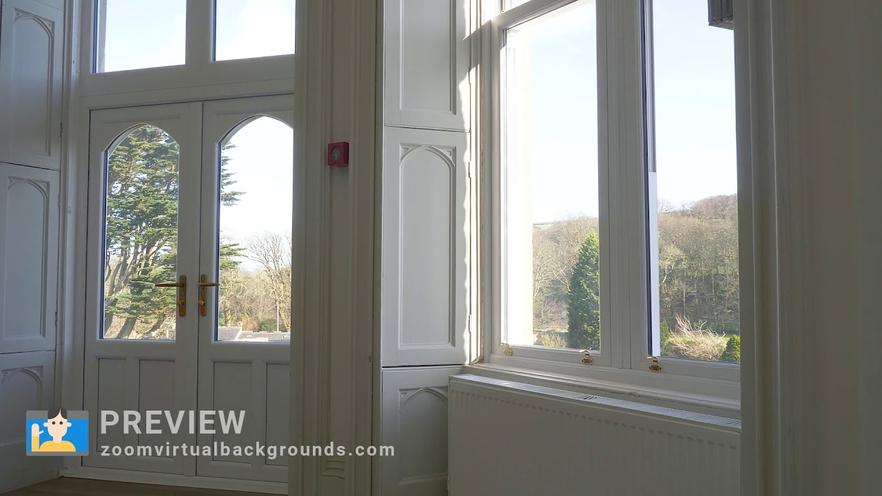 Home Interior Zoom Virtual Background Preview - YouTube