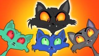 Three Little Kittens | три маленькие котята | страшновато рифмы для детей | дети видео