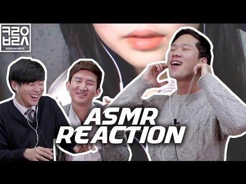 Koreans React To ASMR [Korean Bros]
