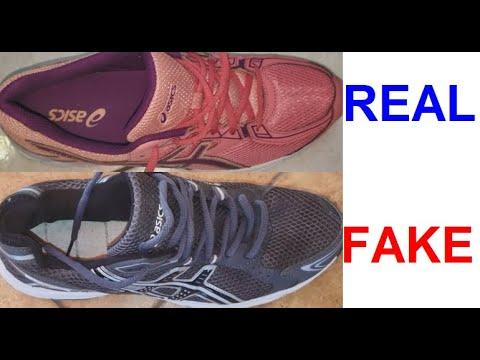 Real vs Fake Asics sneakers. How to spot fake Asics gel.