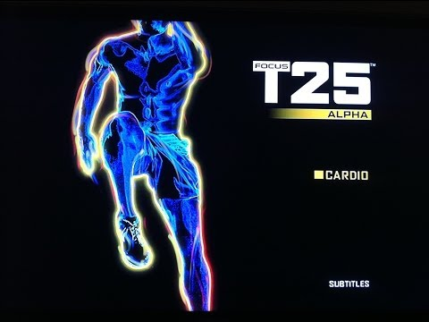 T25 Alpha Cardio Workout