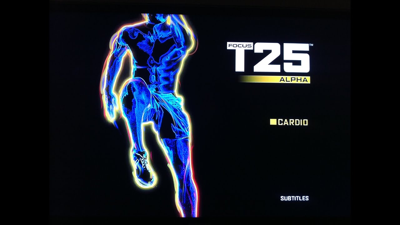 Focus T25 Workout Do 25 Minute Workout A Day To Lose weight